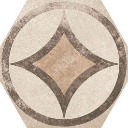 HEXATILE CEMENT GARDEN  SAND