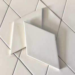 RHOMBUS WHITE MATE